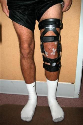 Most Expensive ACL Brace Pic