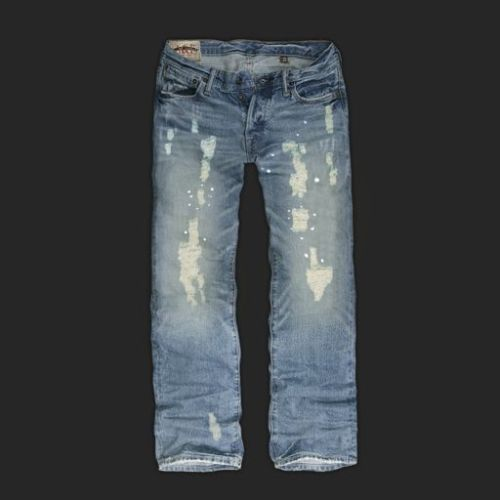 Most Expensive Abercrombie Jeans Faded Look