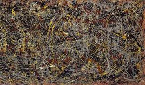 No., 5, 1948 – Jackson Pollock