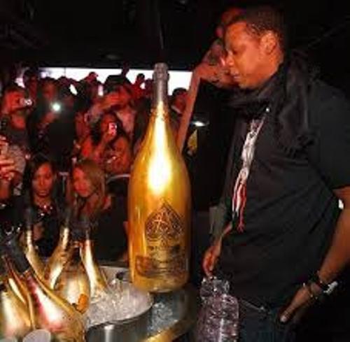 Ace of Spades Bottle Jay Z