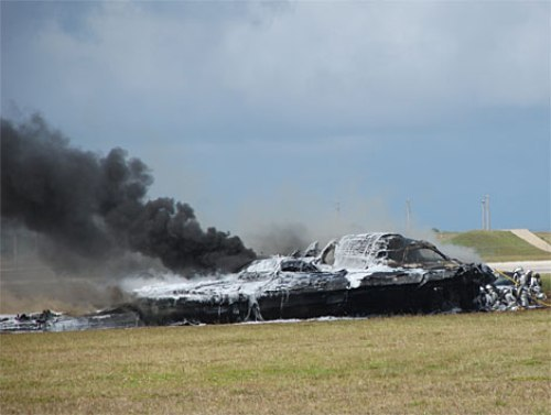 B-2 Stealth Bomber Crash