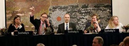 Most Expensive Aboriginal Art Auction