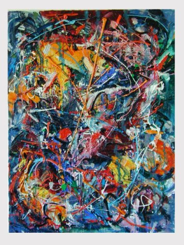Most Expensive Abstract Expressionist Painting Colors
