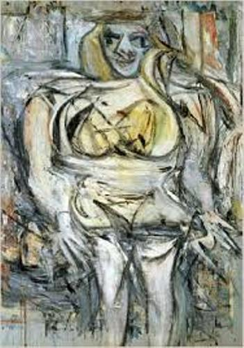 Most Expensive Abstract Expressionist Painting  Woman III