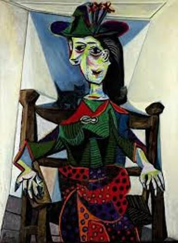 Most Expensive Abstract Paintings Dora Maar au Chat
