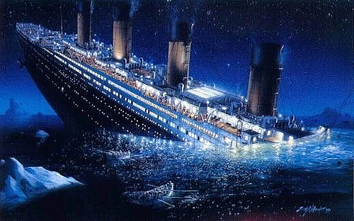 Most Expensive Accidents Sinking of the Titanic
