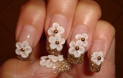 Most Expensive Acrylic Nails Flowers
